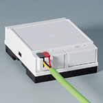 KNX cover for DIN rail enclosures