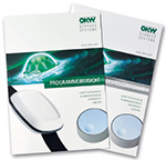 OKW catalogue enclosures, tuning knobs and service