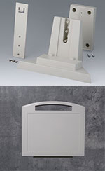 Adapter for station L: practical wall console for Carrytec size L