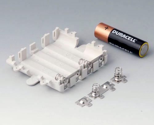 A9345217 Batteriefach-Set, 4 x AA