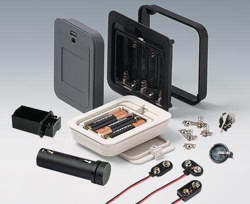 Batteriefach AA, 9V, Batteriehalter