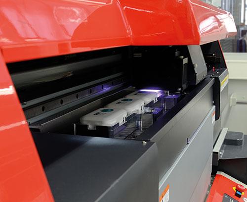 Digitalbedruckung der Teile