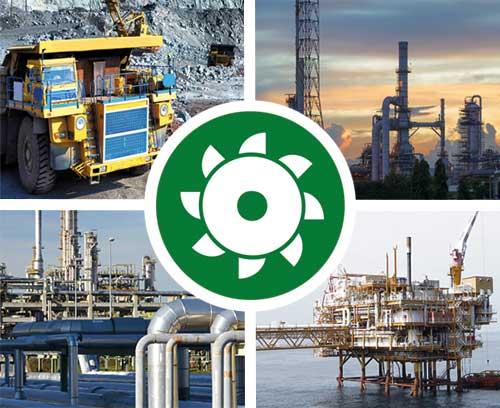 Bergbau / Gas / Öl