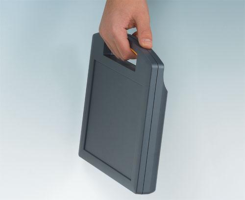 CARRYTEC M in flacher Ausführung; ideal für den Einbau von Tablets o.Ä.