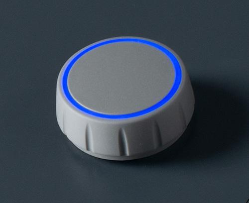 CONTROL-KNOBS mit optionaler Beleuchtung auf der Deckfläche