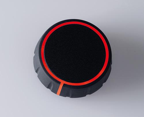 CONTROL-KNOBS mit optionaler Beleuchtung auf Deck- und Seitenfläche