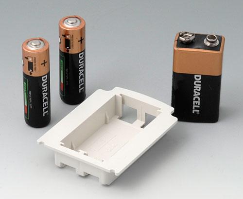 A9176128 Batteriefach XS, 2 x AA oder 1 x 9 V