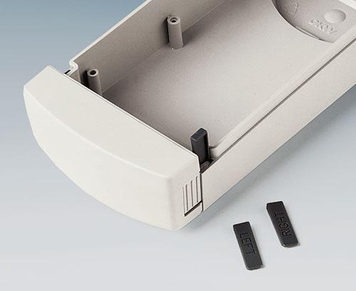 rastbare Abdeckkappe lässt sich bei Bedarf auch fest montieren (M/L)