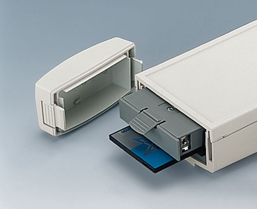 DATEC-CONTROL M/L mit PCMCIA-Karte und Batteriefach