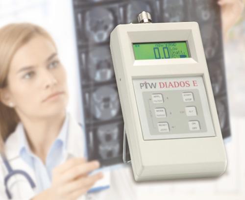 Dosimeter zur Prüfung und Qualitätskontrolle diagnostischer Röntgenanlagen, PTW-Freiburg