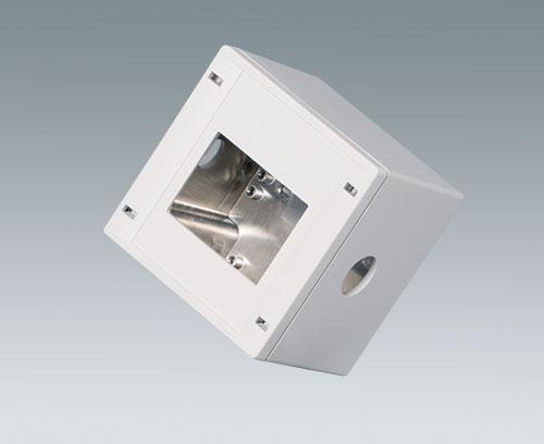 SNAPTEC Gehäuse mit Aluminiumbeschichtung und mechanischer Bearbeitung