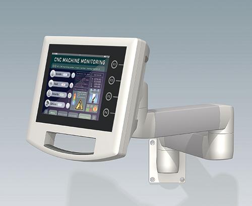 CARRYTEC Gehäuse mit Touchscreen
