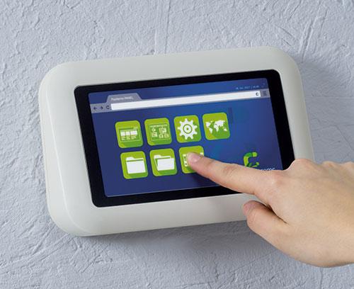 EVOTEC Wandgehäuse mit Touchscreen