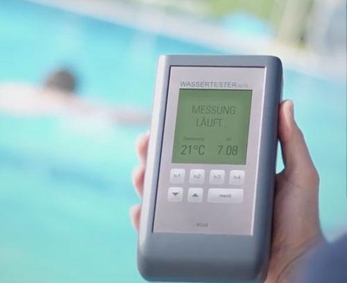 Wassertestgerät