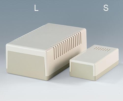 Flachgehäuse L und S
