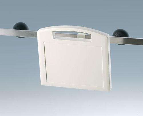 Halteklammer für Geräte-Normschienen DIN EN ISO 19054