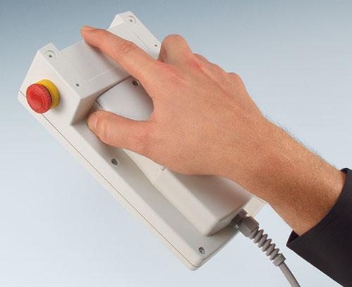ergonomischer Griffbereich für bequemes Umfassen