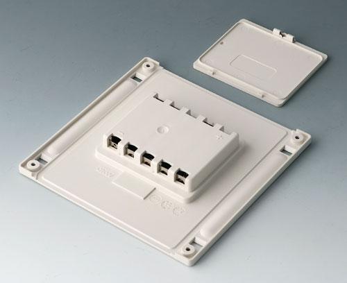 B4144047 Batteriefach und -deckel M, 5 x AA