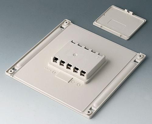 B4146047 Batteriefach und -deckel L, 5 x AA