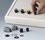 Kombiknöpfe mit unterschiedlichen Knopfdesigns