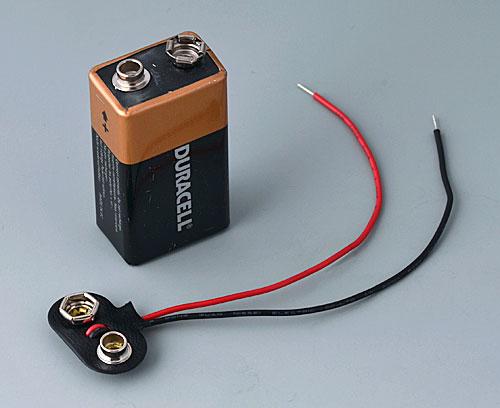 A9193002 Druckknopfanschluss, 1 x 9 V (PP3)