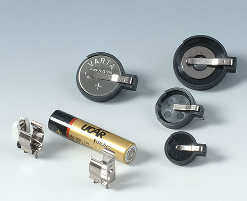 Batterieclips und Knopfzellenhalter