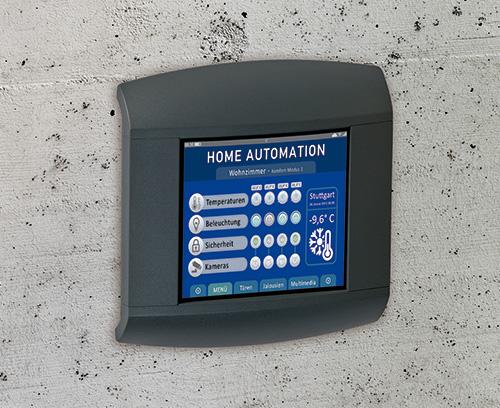 Kontrollpanel für Home Automation