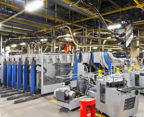 Industrielle Maschinen und Anlagen