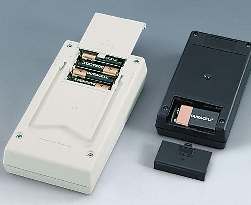 Batteriefächer für C, AA und 9 V Batterien