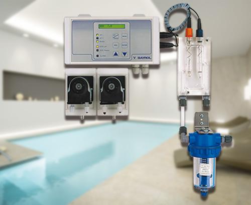 Mess-, Regel- und Dosiereinheit für optimale Wasserqualität, Bayrol