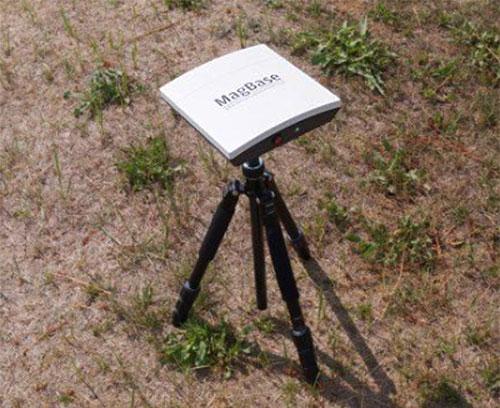 Messstation für stationäre Feldmessungen