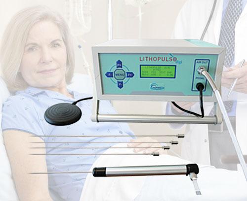 Pneumatisches Lithotripsie-System, Aymed