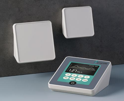 ergonomisch günstige Formgebung für Pult- und Wandanwendungen