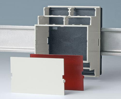 Frontplatten PC lichtgrau, rot transparent und rauchglas (Zubehör)