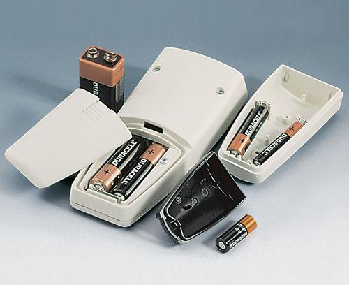 kompatibel für AAA, AA, 9 V oder 12 V-Rundzelle