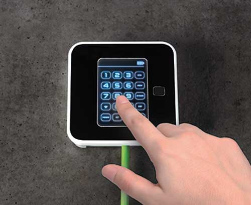 SMART-PANEL S84 mit Touchscreen Anwendung