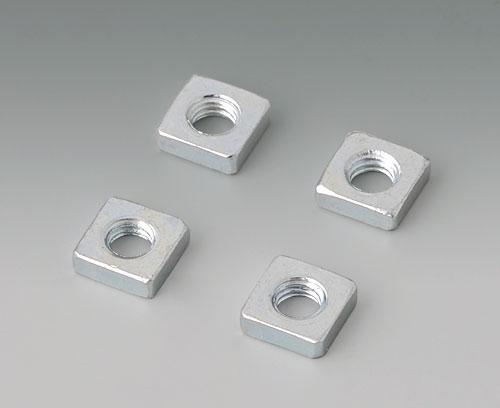 B3500001 Vierkantmuttern-Set M3