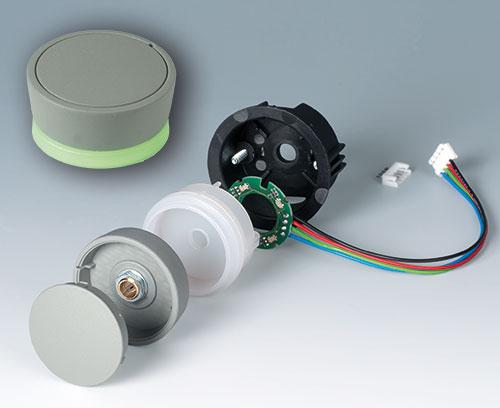 Einzelteile Aufbauvariante mit LED Backlight