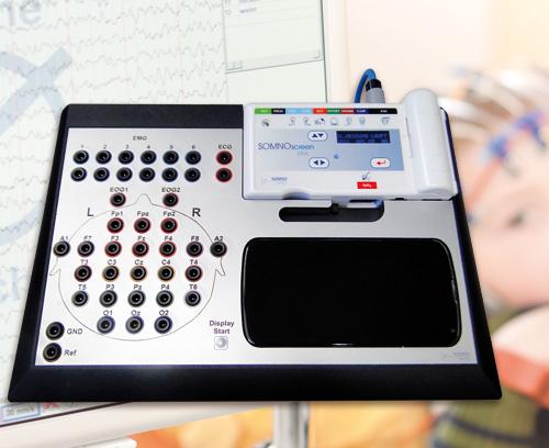 System für Langzeit-EEG-Aufzeichnungen, SOMNOmedics