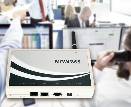 Teleservice-Gateway MGW/865, SSV