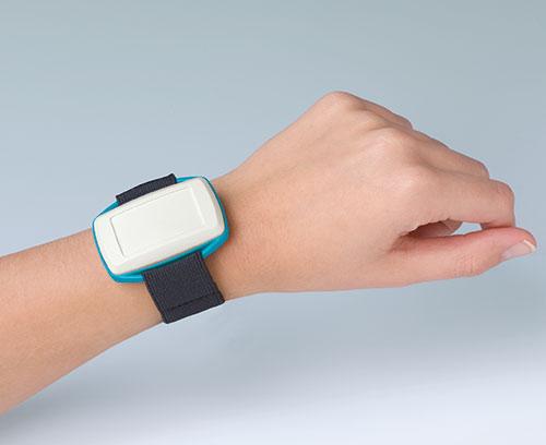 Armband mit Klettverschluss, z.B. für MINITEC Gehäuse