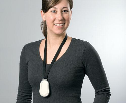 Halsband Textil mit Sicherheitsverschluss, z.B. für MINITEC Gehäuse