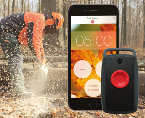 A personal alarm on your mobile phone