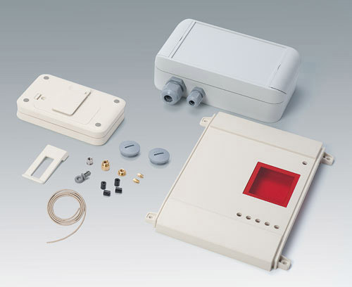 Assembly of enclosure accessories to complete your device