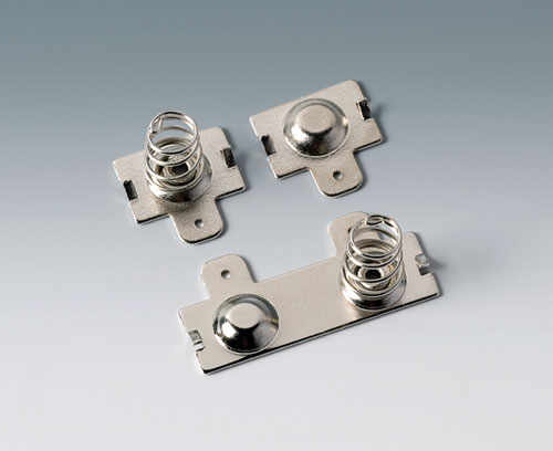 A9190014 Set of battery clips, 2 x AA