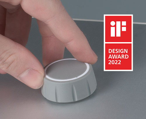 Modern tuning knobs are easy to operate