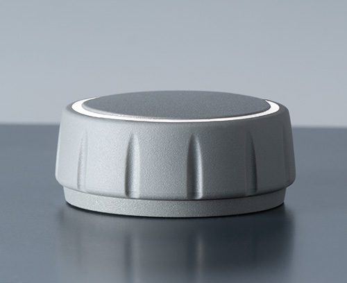 CONTROL-KNOBS without illumination; can also be used with base (accessory) for an elegant floating appearance