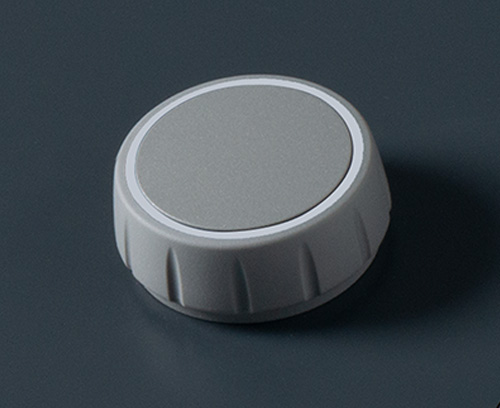 CONTROL-KNOBS without illumination, volcano/traffic white colour