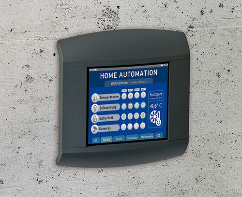 Control panel for home automation