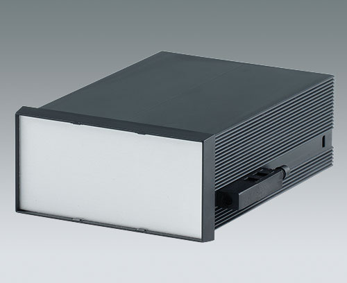 DIN-MODULAR CASE with aluminium front panel (accessory)